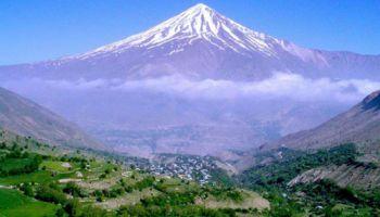 La montagne de Damavand